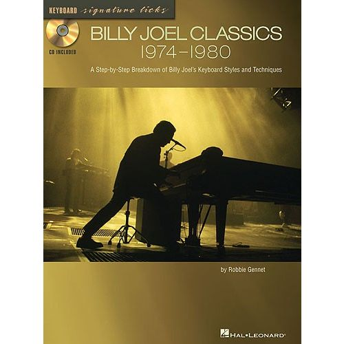 HAL LEONARD BILLY JOEL CLASSICS 1974-1980 SIGNATURE LICKS GUITAR + CD - PVG