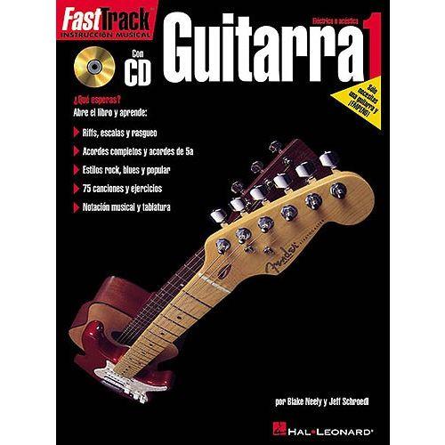 HAL LEONARD FAST TRACK GUITARRA 1 + CD - GUITAR