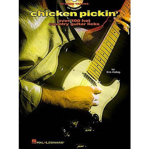HAL LEONARD CHICKEN PICKIN' + CD - GUITAR TAB