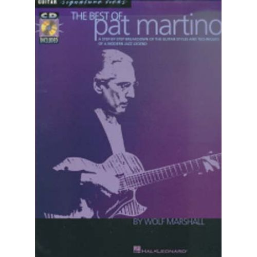 HAL LEONARD MARTINO PAT - BEST OF SIGNATURE LICKS + CD - GUITARE TAB
