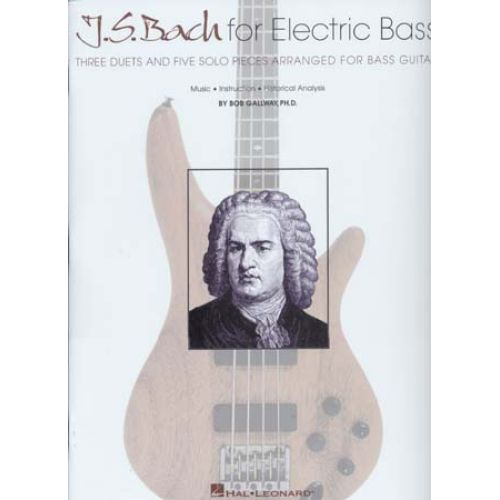 HAL LEONARD BACH FOR ELECTRIC - BASS TAB