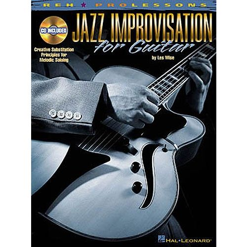 HAL LEONARD WISE LES - JAZZ IMPROVISATION FOR GUITAR + CD - GUITAR TAB