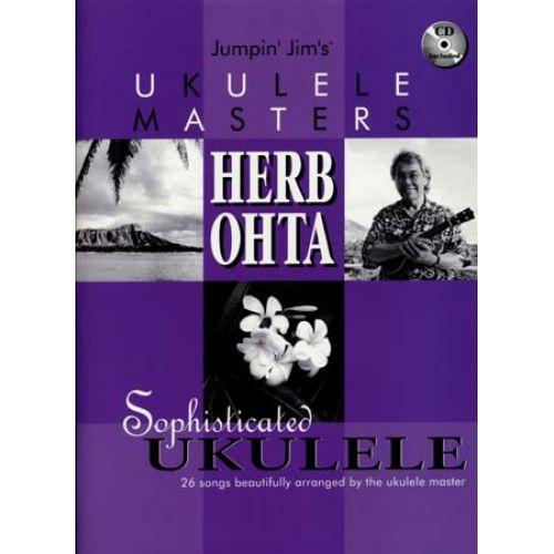 HAL LEONARD OTHA HERB - UKULELE MASTERS 26 SONGS + CD - GUITAR TAB