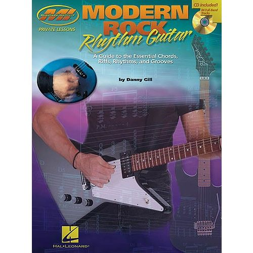MUSIC SALES MUSICIANS INSTITUTE MODERN ROCK RHYTHM GUITAR + CD - GUITAR