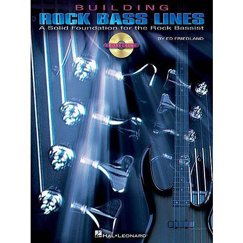 HAL LEONARD BUILDING ROCK BASS LINES + CD - BASS GUITAR