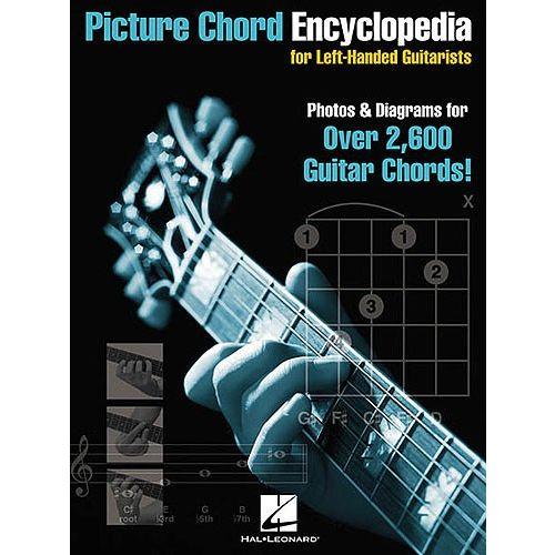 HAL LEONARD PICTURE CHORD ENCYCLOPEDIA FOR LEFT-HANDED GUITARISTS - GUITAR