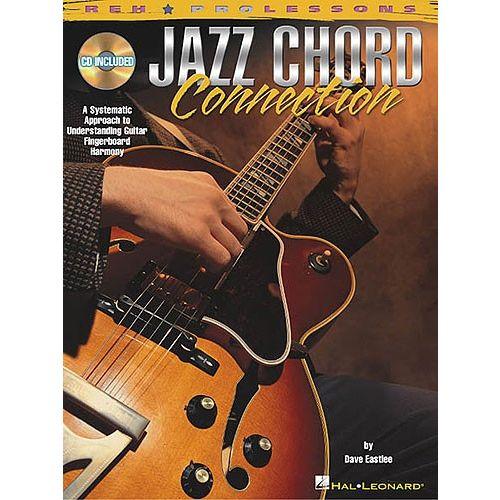 HAL LEONARD JAZZ CHORD CONNECTION + CD - GUITAR TAB