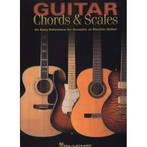 HAL LEONARD GUITAR CHORDS & SCALES EASY