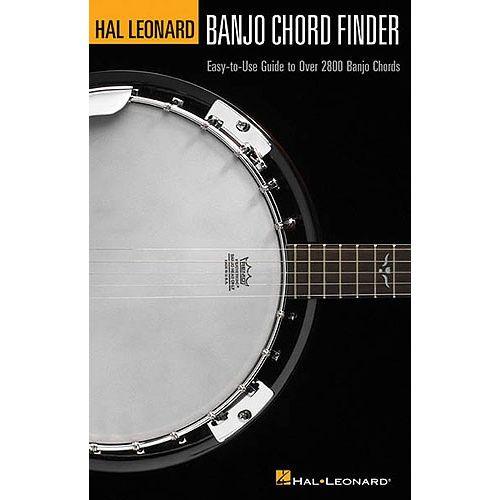 HAL LEONARD BANJO CHORD FINDER - BANJO