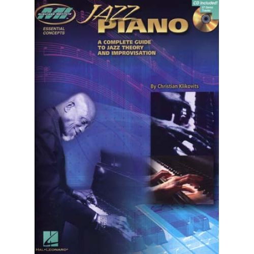 HAL LEONARD JAZZ PIANO THE COMPLETE GUIDE + CD