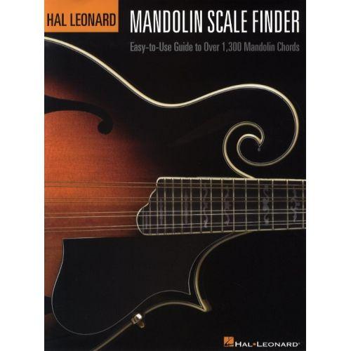 HAL LEONARD MANDOLIN SCALE FINDER -