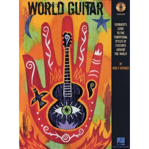 HAL LEONARD HERRIGES GREG P. - WORLD GUITAR + CD - GUITAR TAB