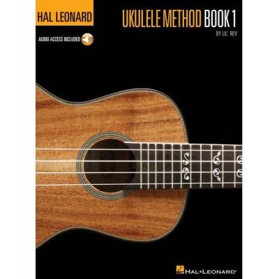 HAL LEONARD HAL LEONARD UKULELE METHOD BOOK 1 + MP3 - UKULELE