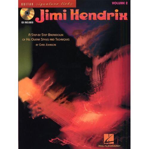 HAL LEONARD HENDRIX JIMI - SIGNATURE LICKS VOL.2 + CD - GUITAR TAB