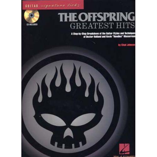 HAL LEONARD OFFSPRING - GREATEST HITS - SIGNATURE LICKS GUITAR + CD - GUITAR TAB