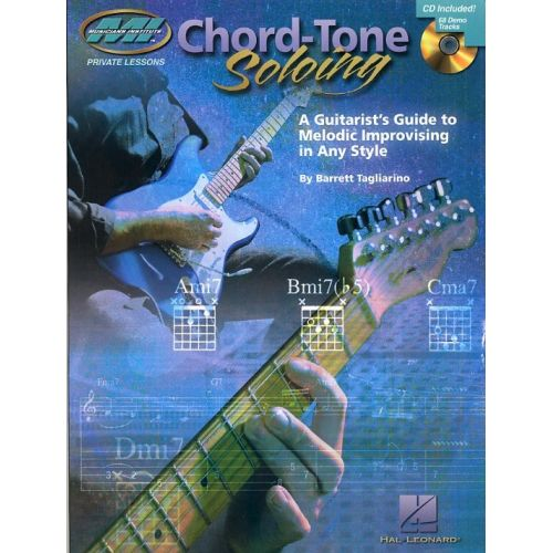 HAL LEONARD BARRETT TAGLIARINO CHORD-TONE SOLOING + CD - GUITAR
