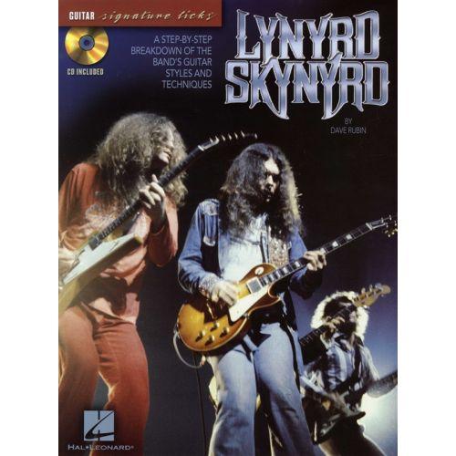 HAL LEONARD LYNYRD SKYNYRD - SIGNATURE LICKS + CD - GUITAR TAB