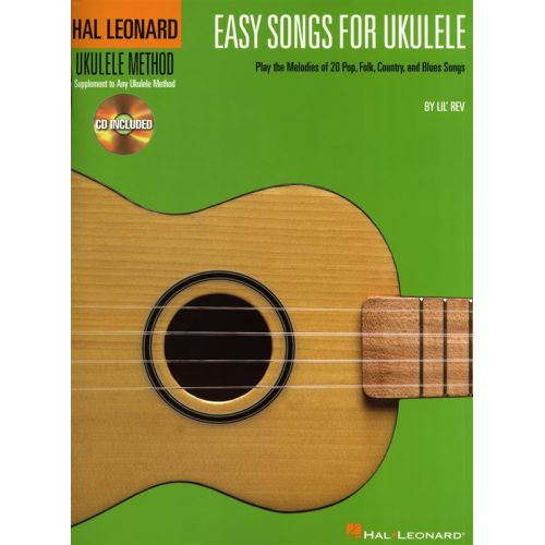 HAL LEONARD EASY SONGS FOR UKULELE + CD