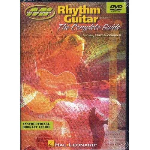 HAL LEONARD DVD - BUCKINGHAM BRUCE - RHYTHM GUITAR COMPLETE GUIDE