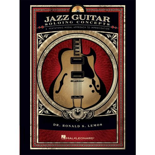 HAL LEONARD JAZZ GUITAR SOLOING CONCEPTS + CD - GUITAR