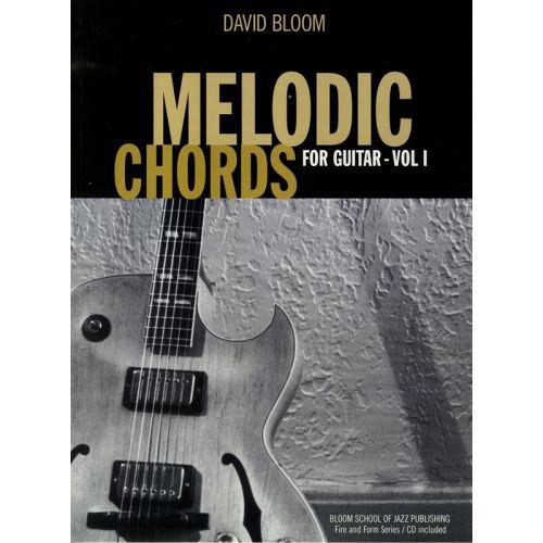 AMSCO MELODIC CHORDS FOR GUITAR VOLUME 1 + CD - PT. 1 - GUITAR