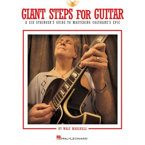 HAL LEONARD WOLF MARSHALL GIANT STEPS FOR GUITAR - GUITAR