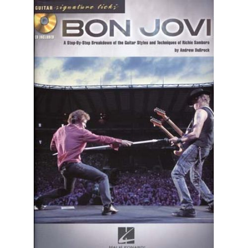 HAL LEONARD BON JOVI - GUITAR SIGNATURE LICKS + CD