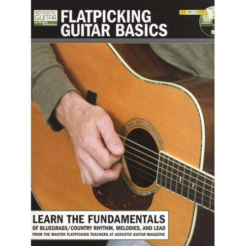 MUSIC SALES FLATPICKING GUITAR BASICS + CD TAB - GUITAR