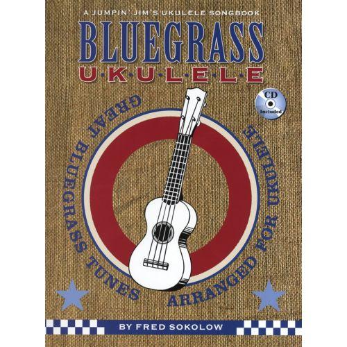 HAL LEONARD SOKOLOW FRED - BLUEGRASS UKULELE + CD