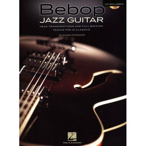 HAL LEONARD PERSINGER S. - BEBOP JAZZ GUITAR + CD