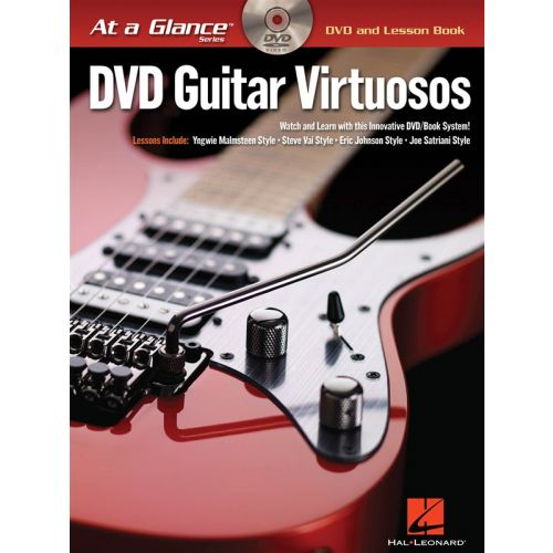HAL LEONARD AT A GLANCE DVD GUITAR VIRTUOSOS + DVD - GUITAR