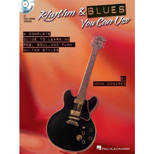 HAL LEONARD RHYTHM AND BLUES YOU CAN USE + CD - GUITAR