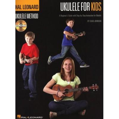 HAL LEONARD HAL LEONARD UKULELE METHOD FOR KIDS + MP3