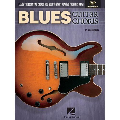 HAL LEONARD JOHNSON CHAD BLUES GUITAR CHORDS ESSENTIAL CHORDS + DVD - GUITAR