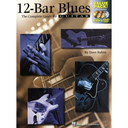 HAL LEONARD 12 BAR BLUES COMBO PACK GUITAR + CD/DVD - GUITAR TAB