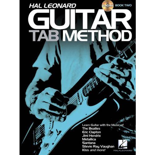 HAL LEONARD HAL LEONARD GUITAR TAB METHOD 2 TAB + CD - GUITAR
