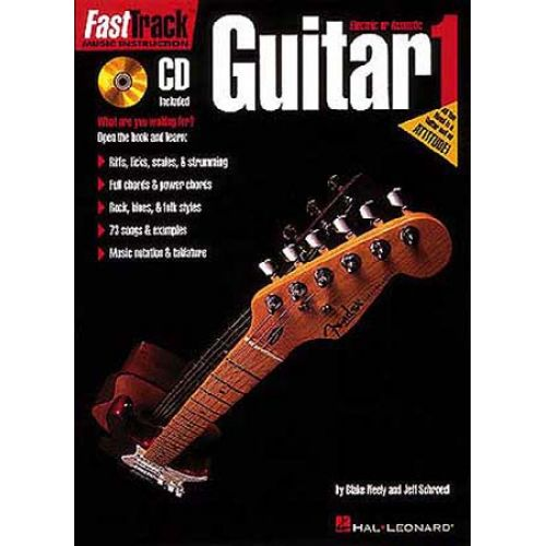 HAL LEONARD FAST TRACK GUITAR VOL.1 + CD - GUITAR TAB