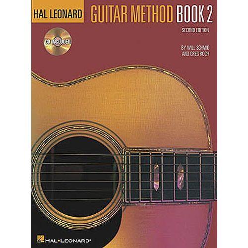 HAL LEONARD HAL LEONARD GUITAR METHOD BOOK 2 + CD - GUITAR
