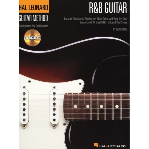 HAL LEONARD HAL LEONARD GUITAR METHOD R&B GUITAR TAB + CD - GUITAR