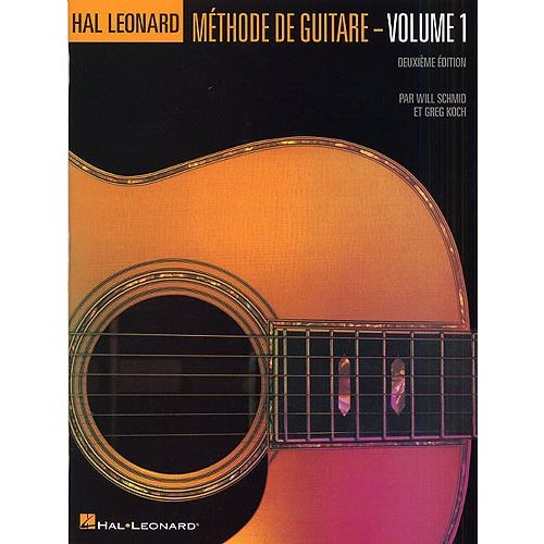 HAL LEONARD KOCH GREG - HAL LEONARD METHODE DE GUITARE EN FRANCAIS VOL.1