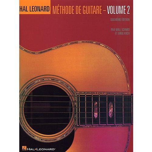 HAL LEONARD HAL LEONARD METHODE DE GUITARE VOLUME 2 - GUITAR