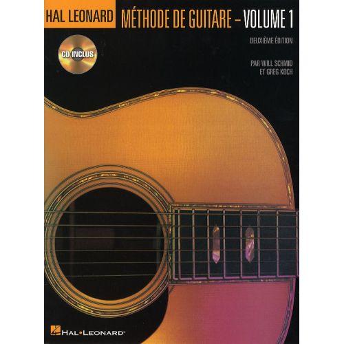 HAL LEONARD HAL LEONARD METHODE DE GUITARE EN FRANCAIS VOL.1 + CD