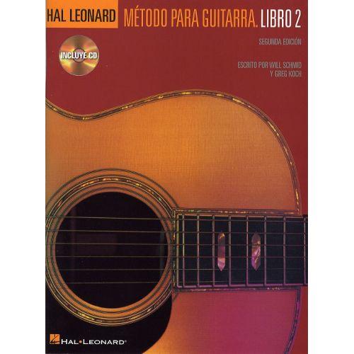 HAL LEONARD METODO PARA GUITARRA HAL LEONARD LIBRO 2 + CD - GUITAR