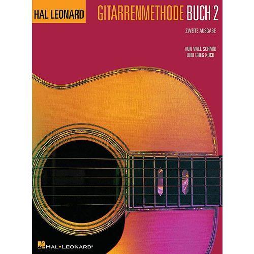 HAL LEONARD HAL LEONARD GITARRENMETHODE BUCH 2 - GUITAR