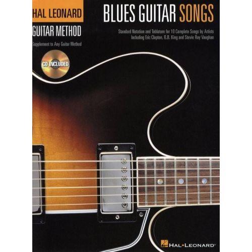 HAL LEONARD HAL LEONARD BLUES GUITAR SONGS + CD - GUITAR TAB