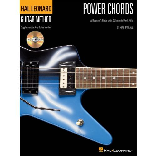 HAL LEONARD HAL LEONARD GUITAR METHOD POWER CHORDS - GUITAR TAB