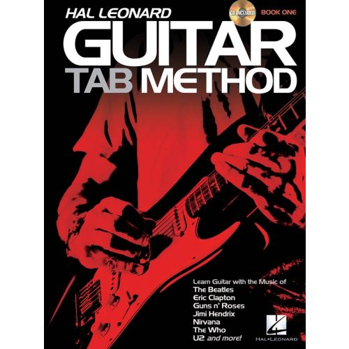 HAL LEONARD HAL LEONARD GUITAR TAB METHOD BOOK 1 + CD - GUITAR TAB