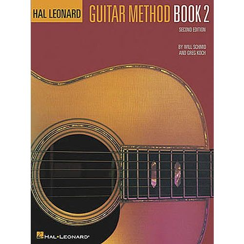 HAL LEONARD HAL LEONARD GUITAR METHOD BOOK 2 SECOND EDITION - GUITAR