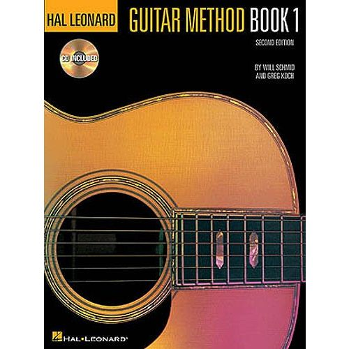 HAL LEONARD HAL LEONARD GUITAR METHOD BOOK 1 SECOND EDITION + CD - GUITAR