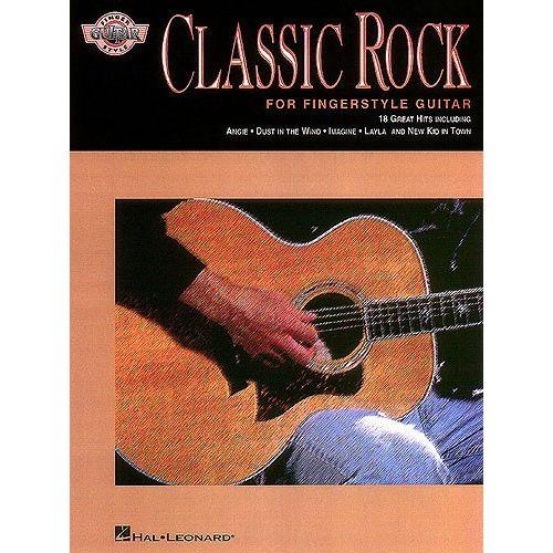 HAL LEONARD CLASSIC ROCK FOR FINGERSTYLE GUITAR- GUITAR TAB